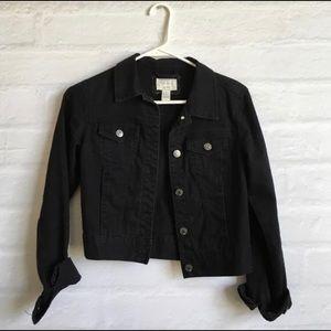 black denim (jean) jacket